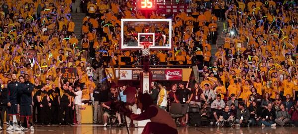 ASU v UA basketball